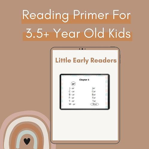 "Reading Primer - ""Little Early Readers"""