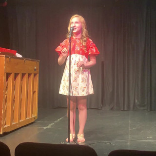 "Kyla Carter singing ""Honey Bun"" from South Pacific"