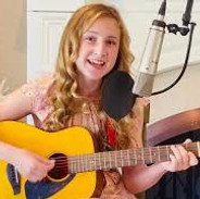 """Kyla Carter singing """"On The Sunny Side Of The Street"""" By Bing Crosby"""