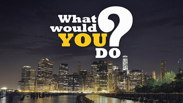 What Would You Do? Promo