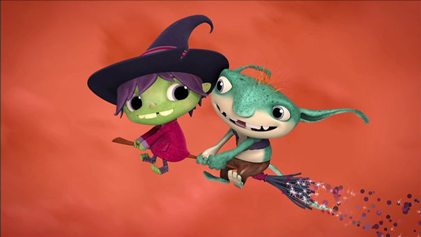 Hattie The Witch and Hopgoblin
