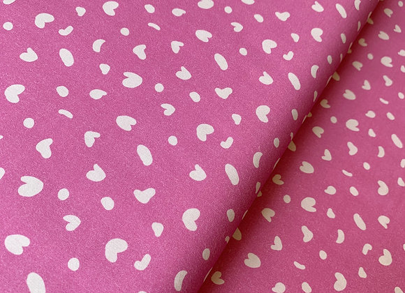 Flower Girl Polka Dot Pink from PBS Fabrics