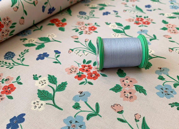 Dereham Ditsy, Natural Beauty from Cloud9 Fabrics