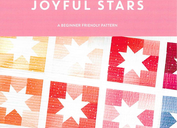 Joyful Stars Quilt Pattern by Cotton + Joy