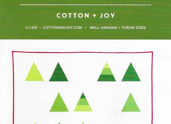Tree Farm Quilt Pattern by Cotton + Joy