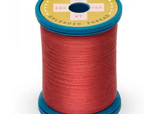 Sulky Cotton + Steel Thread - Brick