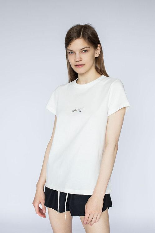 """Женская футболка с принтом """"Камень"""""""