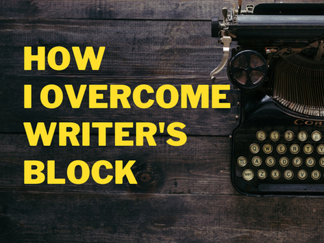 """A Humble Attempt to Avoid the """"Inevitable Writer's Block"""""""