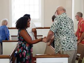 fellowship, welcoming church