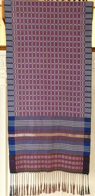 purple parament pulpit