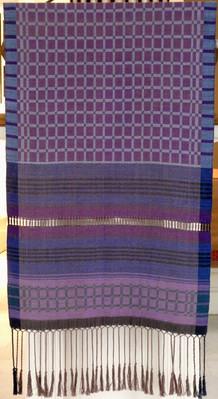 purple parament lectern
