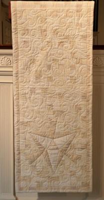 white parament pulpit