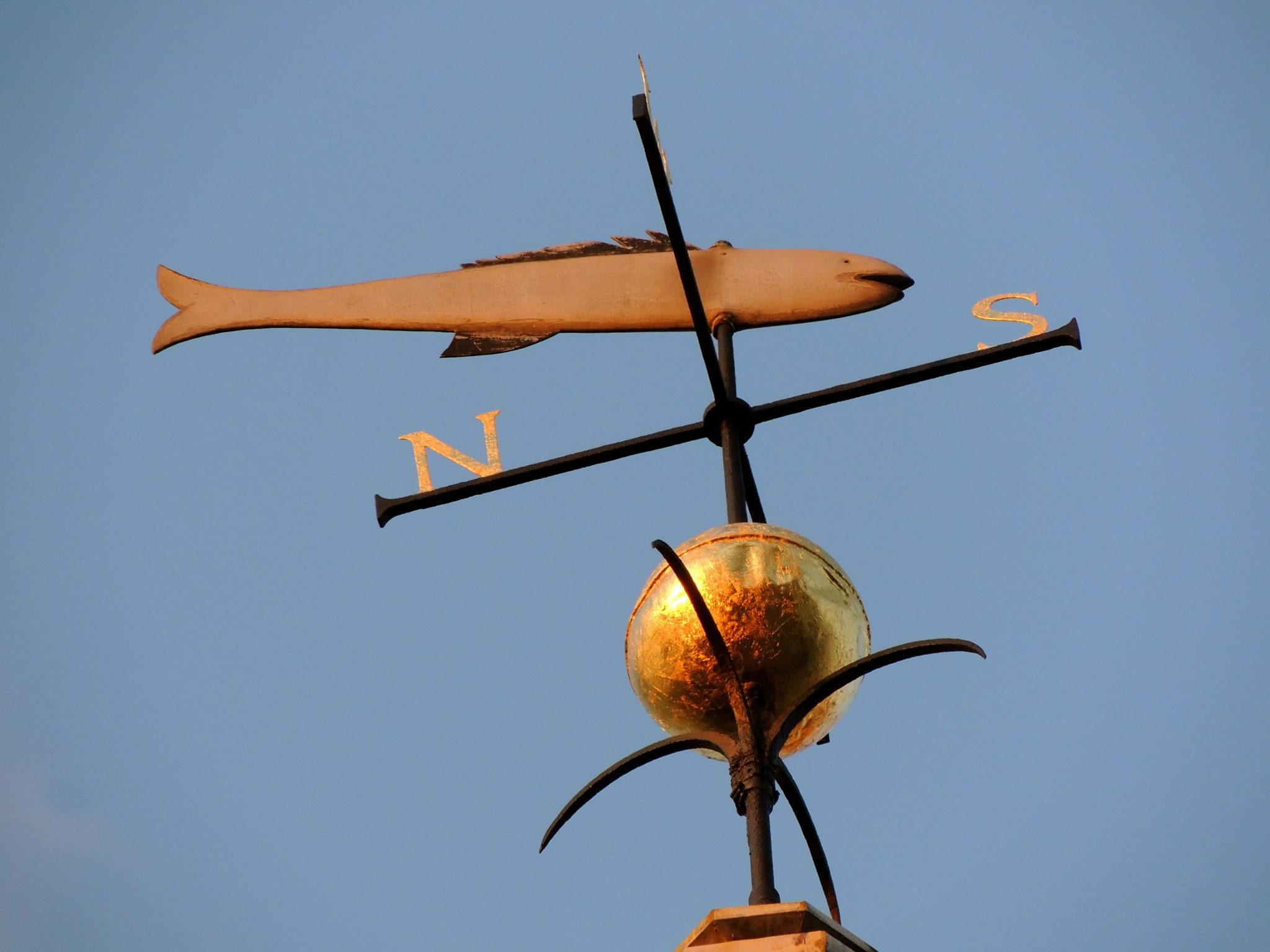 Historic weathervane
