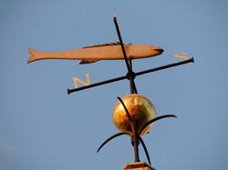 Historic weathervane