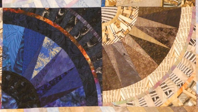 Detail: blue square