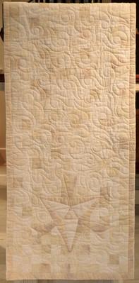 white parament lectern
