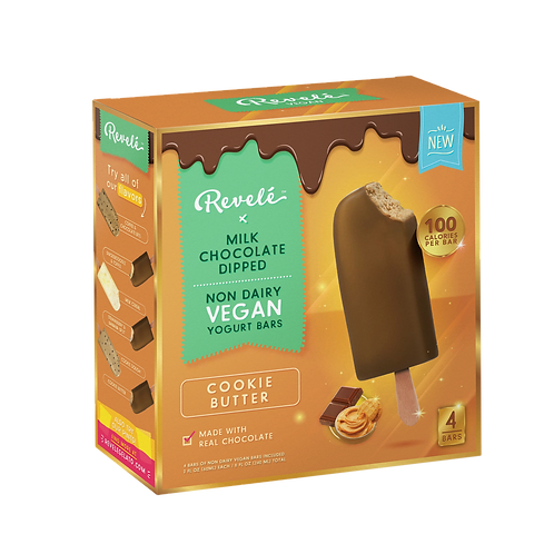 Milk Chocolate Dipped Cookie Butter Bar (1 Carton)