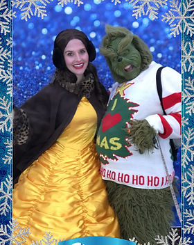 Dazzling Princess Parties Character Performer Christmas Family Party Event Calgary Downtown