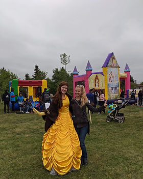 Princess Chsracter Entertainr at local Calgary YYC Family Childrens event party