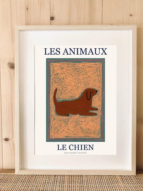 LES ANIMAUX - LE CHIEN