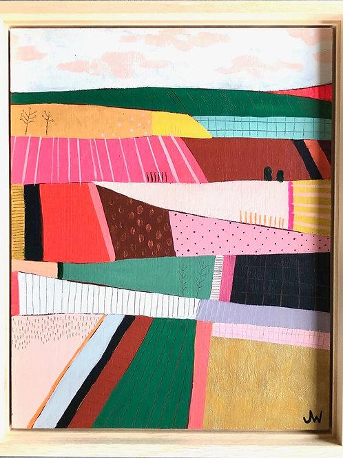 Colourful landscape 1