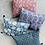 Thumbnail: Bohemian pillow light blue