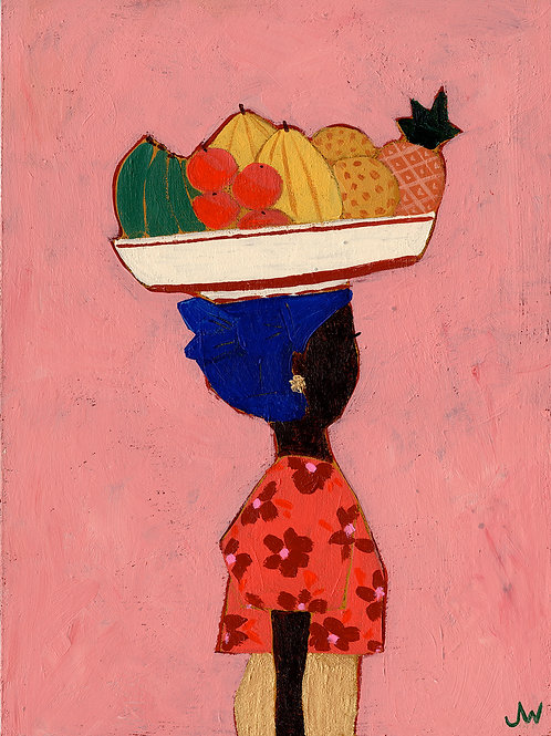 Fruitmarket girl