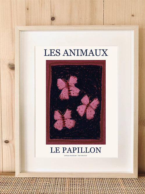 LES ANIMAUX - LE PAPILLON