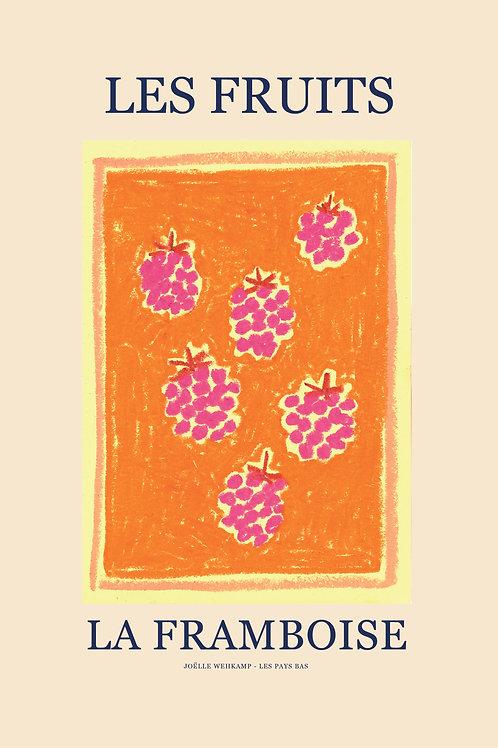 LES FRUITS - LA FRAMBOISE