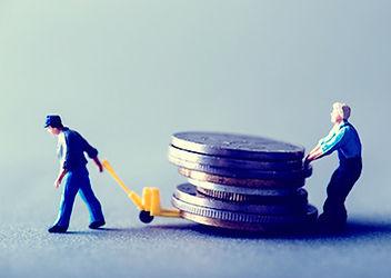債権を回収するイメージ