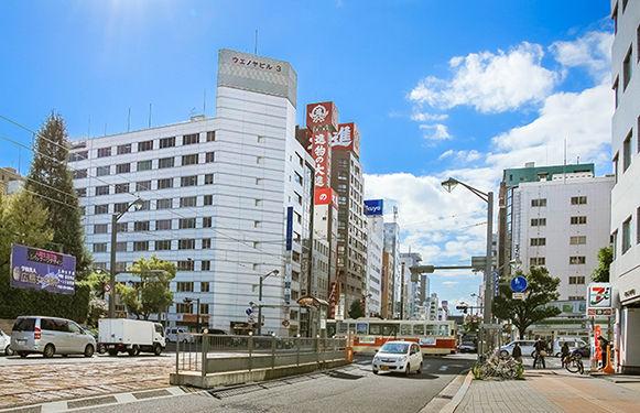 広島の千瑞穂法律事務所周辺の風景