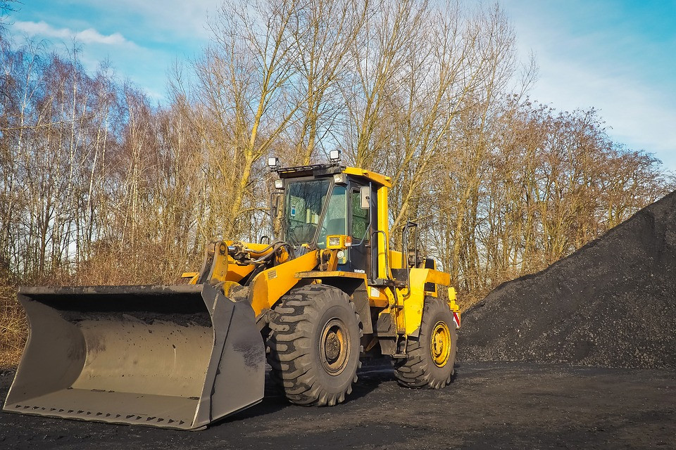 Image of a wheel loader