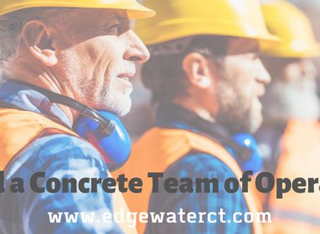 Build a Concrete Team of Operators