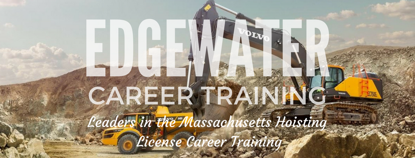 Image of Construction Scene with the text Edgewater Career Training