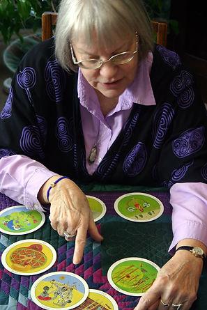 Anita Tarot Reading Picture.JPG