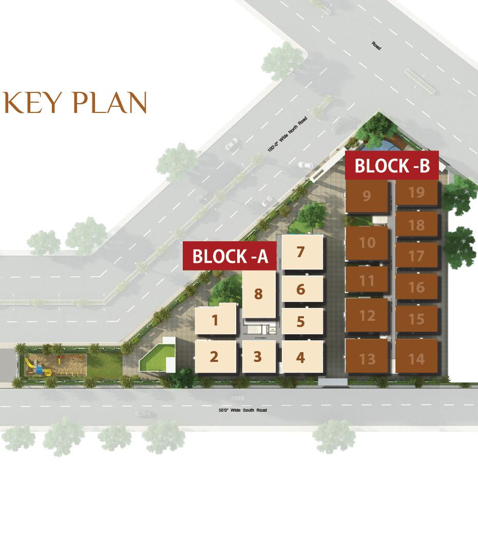 Black A Key Plan
