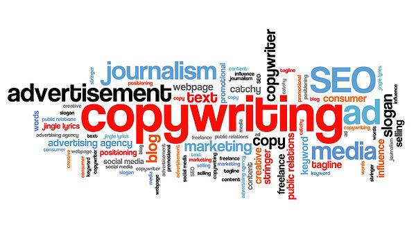 graphic showing copywriting skills