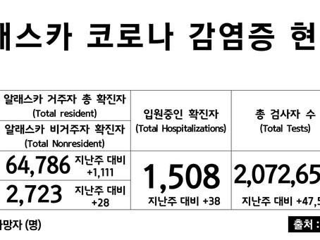 4/26일 기준, 코로나 확진자 & 사망자 수