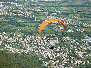 In the Afternoon Let YCI Arrange a Tandem Flight with a Certified Pilot at Your Cycling Italia.
