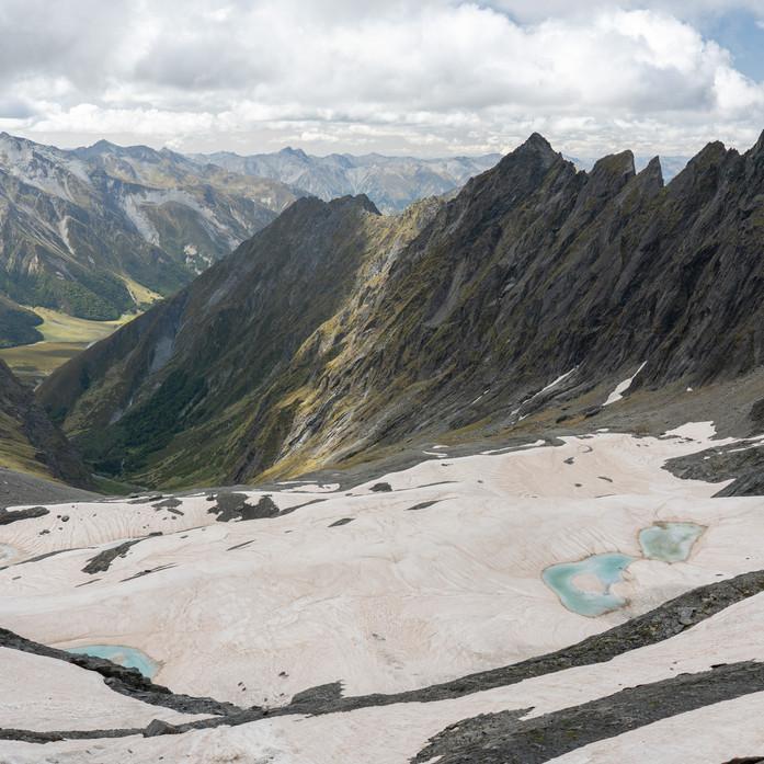 Shrimpton glacier
