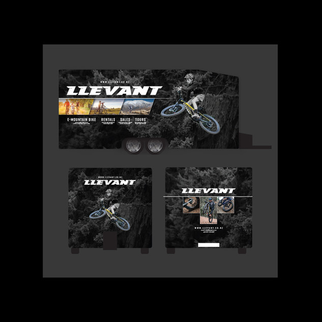 Llevant vehicle wrap