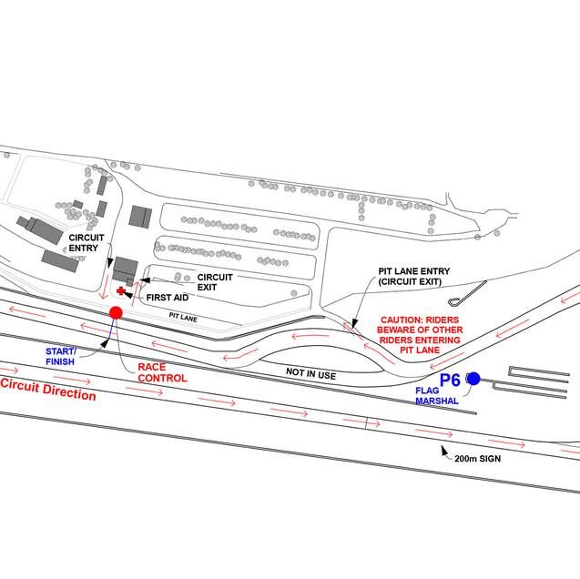 Levels track map