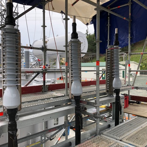 Taihan accessories installed 66kv outdoor terminations