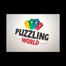 Puzzling World brand refresh