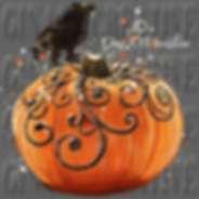 Bird On Pumpkin Painting By Gina 101 Cre