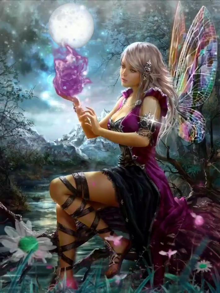 Fantasy Fairy Motion Video By Gina 101 Creative
