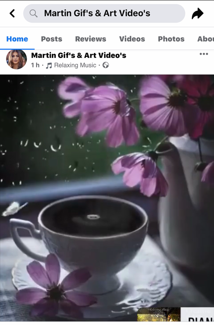 Another video I created that was taken by Edna and posted to her Martin Gifs & Art page, she would pretend to be Martin Hail, she still does to this day.