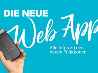 Die Funktionen der neuen Web App