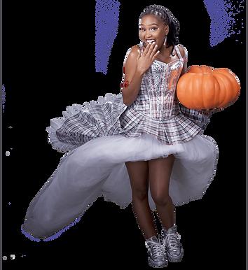 Strylin' Dredz Model with Pumpkin