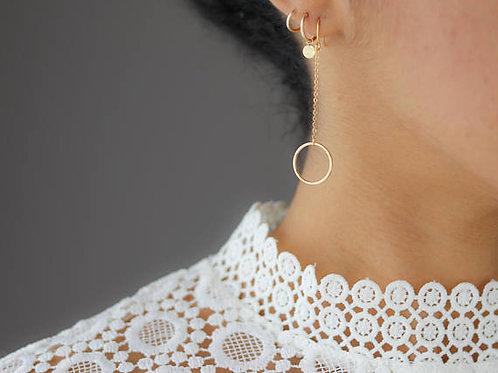 Lexi Circle Earrings